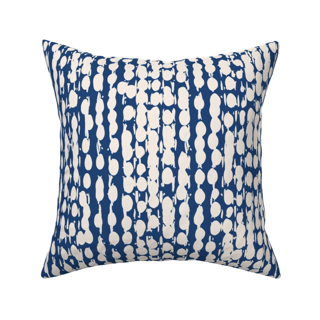 Catalan Throw Pillow featuring shibori6AIpttrn-ind-56 by exotic_vector