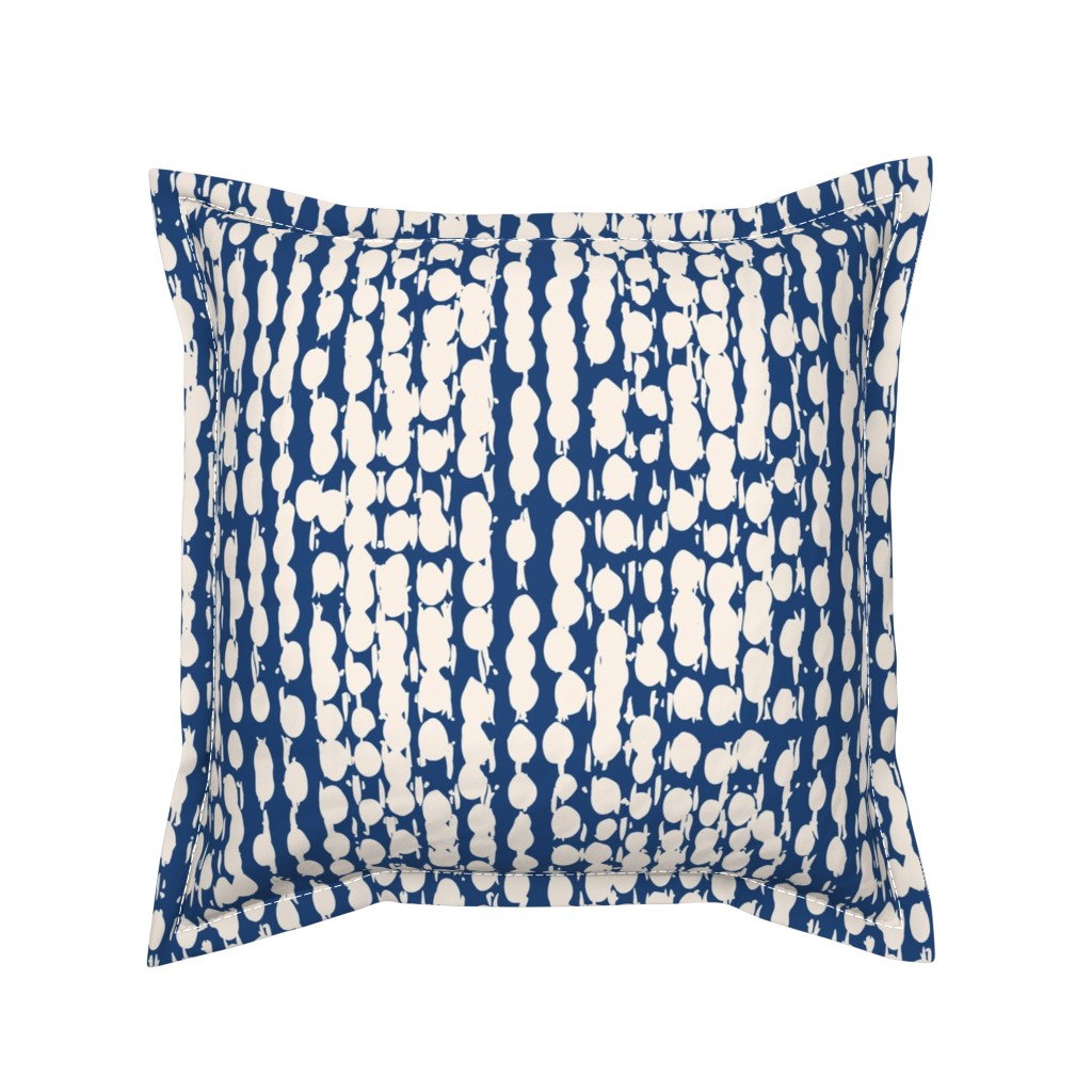 Serama Throw Pillow featuring shibori6AIpttrn-ind-56 by exotic_vector