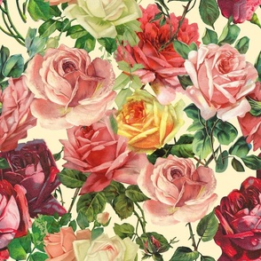 """18"""" Ant Summer Roses"""