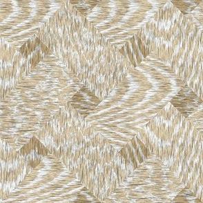 Cerused Wood Basket Weave Ash Oak White