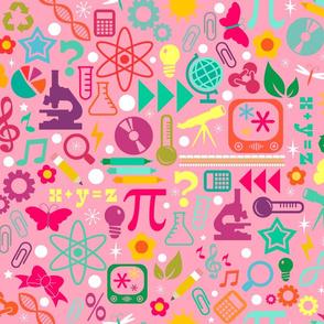STEM Girls Rule - Pink