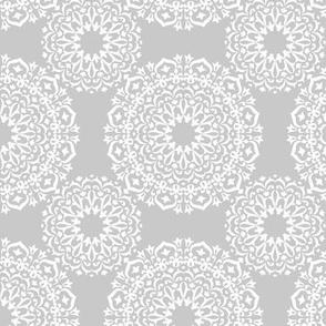 round white mandalas