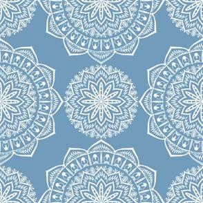 round ethnic pastel pattern