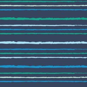 Coralia Stripe Blue