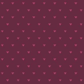 Triangular Leaves Polka / Purple