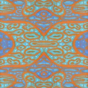 Orangeandblueabstractpatternjuliakhotoshikhlit3