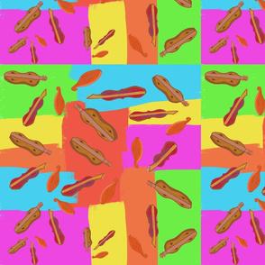 Dulcimer Trio in Rainbow Patches