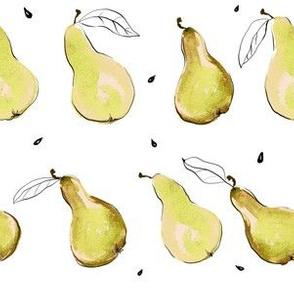 Minimalist Pears:  golden