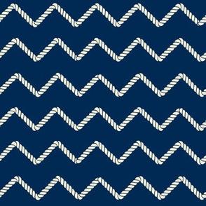 Zigzag Rope Pattern