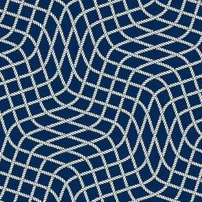Hypnotic Fishnet Pattern