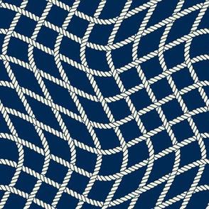 Wavy Fishing net Pattern