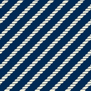 Diagonal Rope Lines