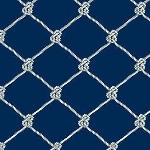 Classic Fishing Net Pattern
