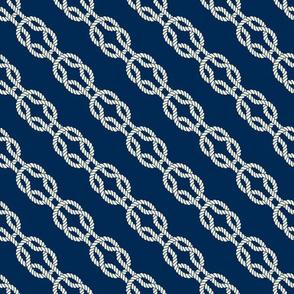 Square Knot - Diagonal Rope Pattern
