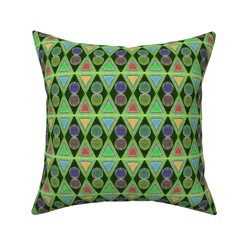 Catalan Throw Pillow featuring Amazonas 137 by hypersphere