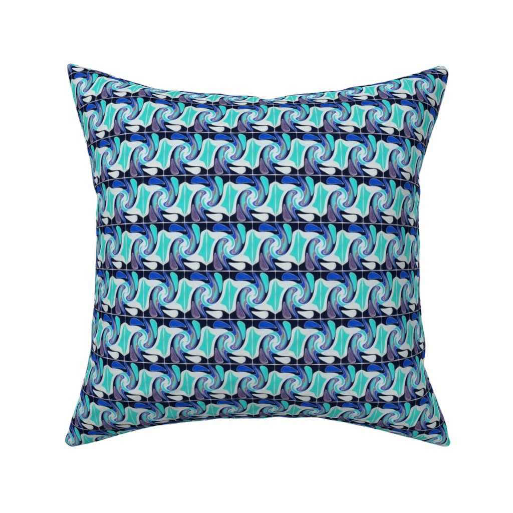 Catalan Throw Pillow featuring Amazonas 139 by hypersphere