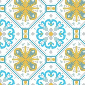 Marrakesh Yellow and Blue