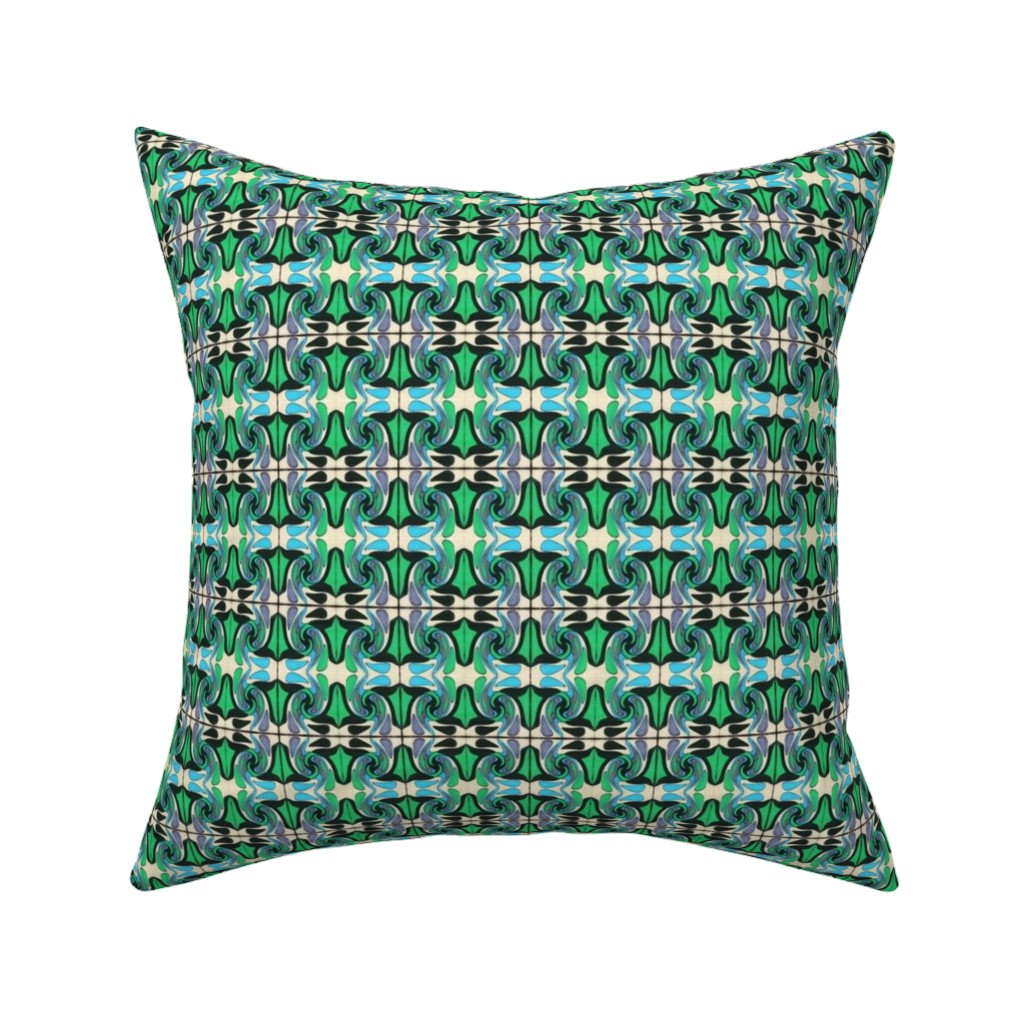 Catalan Throw Pillow featuring Amazonas 140 by hypersphere