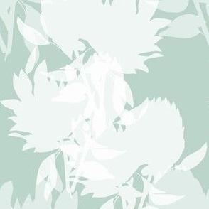 Floral - mint