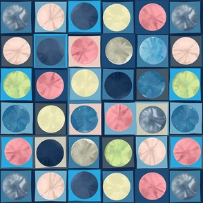 Deconstructed Watercolor Circles