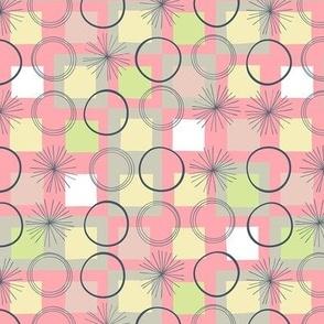 Squares and Circles / Pink