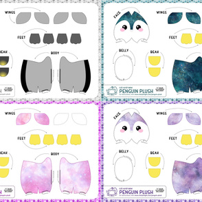Cut & Sew Penguin Plush Bundle