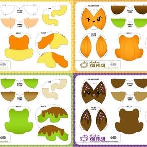 Cut & Sew Rat Plush Bundle Halloween Candy