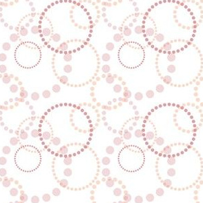 Circles & Rings - Daisy Chain - Overlapping - Rose