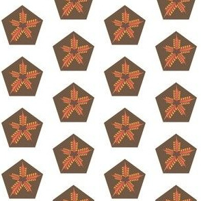 Autumn Star Leaf