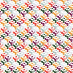 Geometric Pattern: Tube: Summer