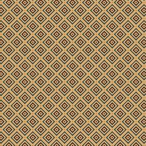 Geometric Pattern: Diamond Weave: Door
