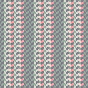 Geometric Pattern: Chevron: Cacti