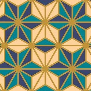 Geometric Pattern: Art Deco Star: Dream