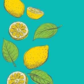 Lemon Time - Aqua 1