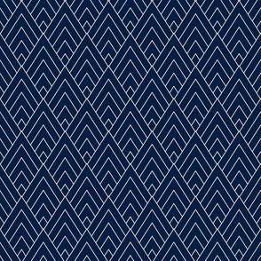 Dark Blue Diamond Mountains