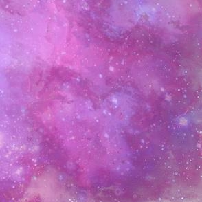 Pink and Purple Galaxy