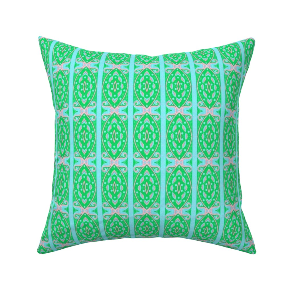 Catalan Throw Pillow featuring bizantine 150 by hypersphere