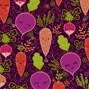 Root Vegetables Characters