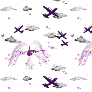 Ac130 pink / purple