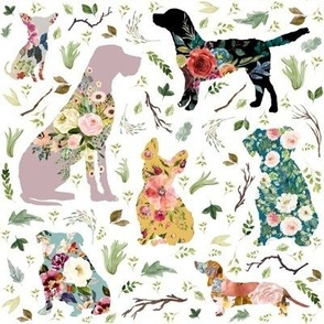 """8"""" Patchwork Dogs"""
