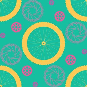 Bike parts are the new polka dots