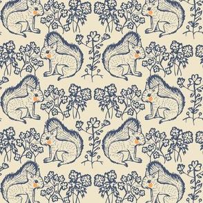 squirrels motif