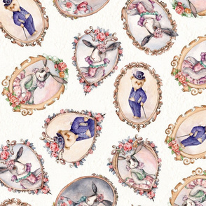 Bel Ami. Victorian  nursery Bunny & Bears