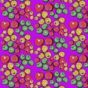 Apples in Purple