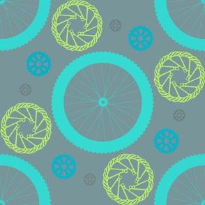 Bicycle polka dot blues
