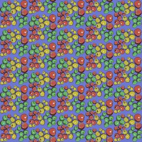 Apples in Blue