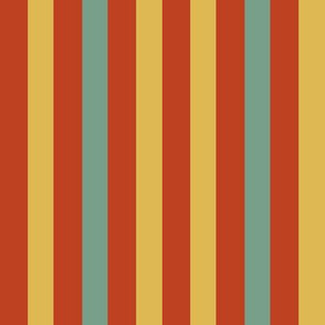 retro circus stripes