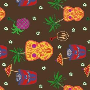 Tiki Cocktails - Bar Towel