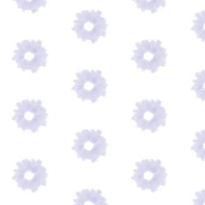 Starburst Watercolor in Lavender