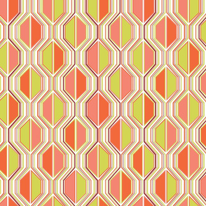 Go-go dancing hexalines in summer citrus